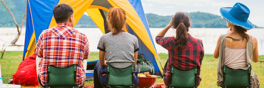 Slobodno vrijeme, kampiranje, ribolov
