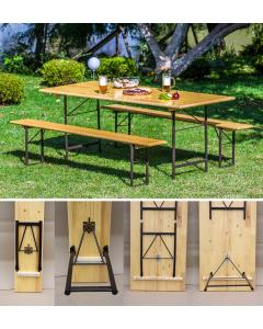 Sklopivi stolovi i klupe (pivske garniture)