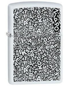 ZIPPO upaljač Letters Design