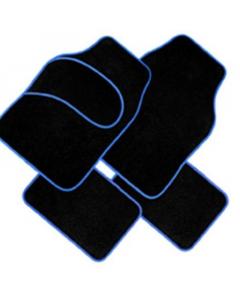 AUTO patosnice tepih plavi rub 4/1 fl