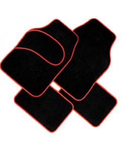 AUTO patosnice tepih crveni rub 4/1 fl