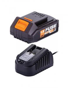 VILLAGER baterija FUSE 1,5Ah i punjač 1,65A