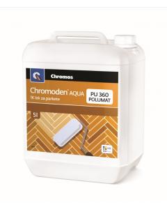 CHROMOS lak za parket 1K PU360 Chromoden polumat 5l
