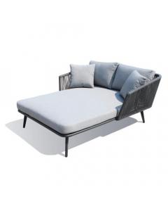 LEŽALJKA - krevet antracit