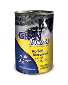 NUTRENA poslastica za pse piletina/čuretina Bocconcini 400g