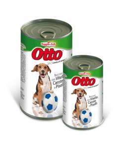 RAGGIO DI SOLE hrana za pse teletina/mrkva/grašak Otto 400g