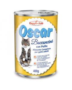 RAGGIO DI SOLE hrana za mačke piletina Oscar 400g