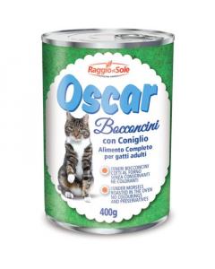 RAGGIO DI SOLE hrana za mačke žečetina Oscar 400g
