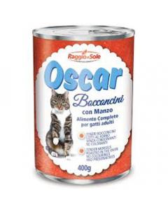 RAGGIO DI SOLE hrana za mačke govedina Oscar 400g