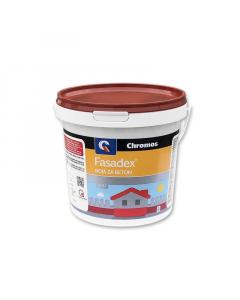 CHROMOS boja za beton Fasadex oksidno crvena 0.75l