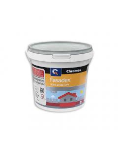 CHROMOS boja za beton Fasadex zelena 0.75l