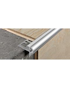 PROGRESS PROFILES profil aluminijski srebro Prostyle 10mm 2,7m