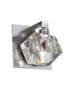 ESTO lampa zidna Ice Cube Chromo 10x10cm