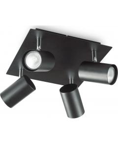 IDEAL LUX luster pl spot glim pl4 crni