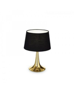 IDEAL LUX lampa stolna london tl1 small gold