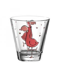 LEONARDO čaša za vodu flamingo Bambini 215ml