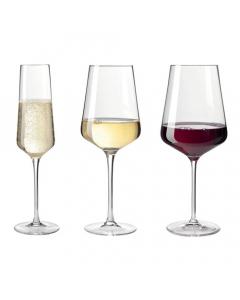 LEONARDO čaše za vino set 18/1 Puccini 10cl