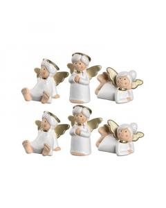LEONARDO figura set 6/1 Angel Marie 8cm