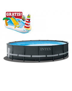 INTEX bazen sa pumpom Ultra Xtr Frame 488x122cm