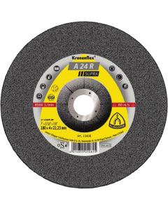 KLINGSPOR ploča brusna 125x6x22 A 24 R