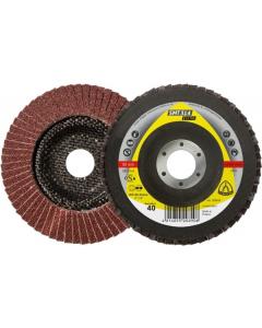 KLINGSPOR disk LBD SMT 314 125x22.23mm granulacija 40