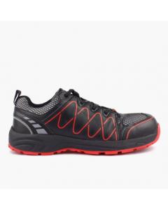 ARDON cipela zaštitna Visper S1 crveno-crna vel. 41