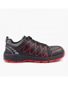 ARDON cipela zaštitna Visper S1 crveno-crna vel. 46