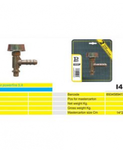 REGULATOR plinski za industriski plamenik