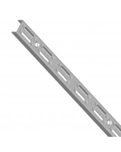 JEWE šina dvoredna siva alu. 5820-1500-150cm