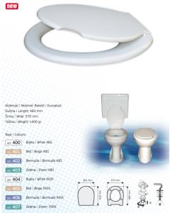 BRTVA PLAST wc daska Vita bijela