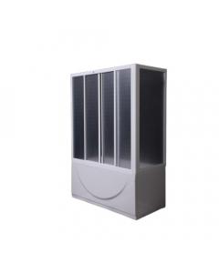 POLYAGRAM kabina za kadu 70x140x140 PVC