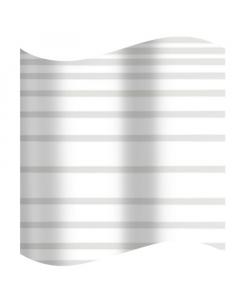 AWD zavjesa za kadu Peva 180x180cm bijela sa crtom