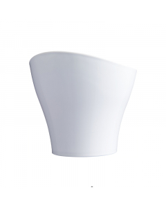 SCHEURICH saksija Wave bijela fi17cm