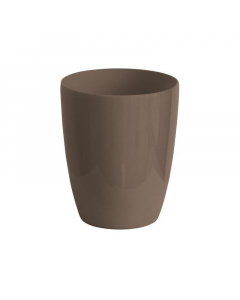 NICOLI saksija Varve Slim sivo-smeđa 13cm