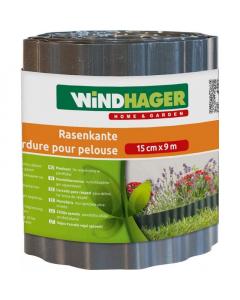 WINDHAGER antracit ogradica za travnjak