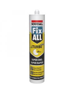 SOUDAL silikon montažni Fix All Turbo bijeli 290ml