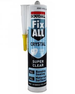 SOUDAL silikon montažni fix All Cristal transparentan 290ml