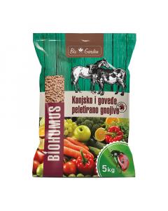 GNOJIVO goveđe i konjsko Biohumus 5kg