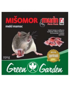 GREEN GARDEN mišomor meki mamac 250g