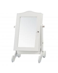 OGLEDALO samostojeće bijelo 22x30cm