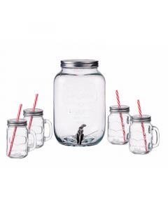 DISPANZER 8L+4 čaše sa poklopcem 450ml