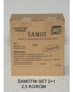 ŠAMOTNI set 2+1