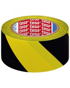 TESA traka za pod crno-žuta 33:50