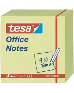 TESA listići samoljepljivi 75x75 žuti