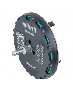 WOLFCRAFT kruna za mekane materijale fi 45-130 mm
