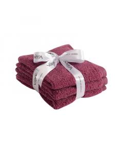 SMART Towel set ljubičastih peškira 3/1