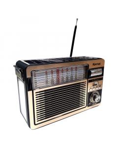 RADIO AM-FM sa solarnim panelom MD-516BT-S