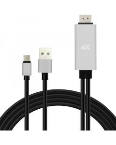 KABAL USB na HDMI 1.8m
