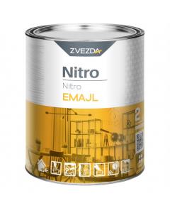ZVEZDA lak srebreni nitro z. RAL 9006 0,75l